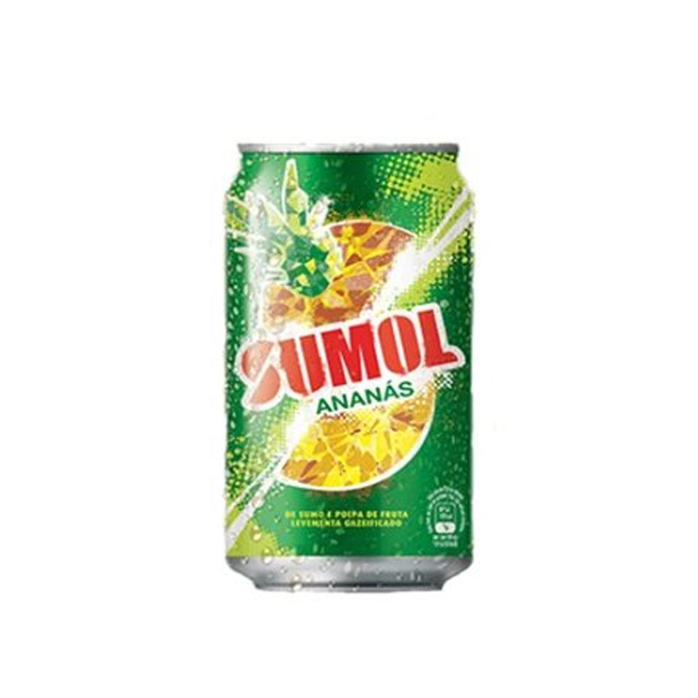 SUMOL DE ANANÁS 0,33CL